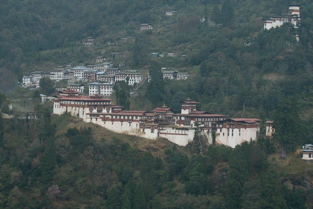 Tronsa Dzong, Bhutan. Photo Aaron Lang.