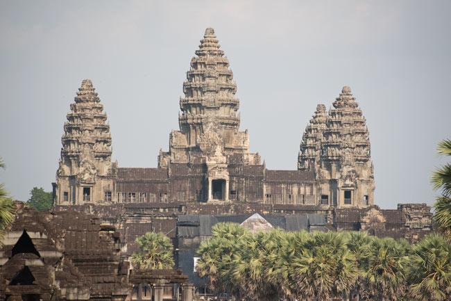 The incomparable Angkor Wat. Photo Aaron Lang.